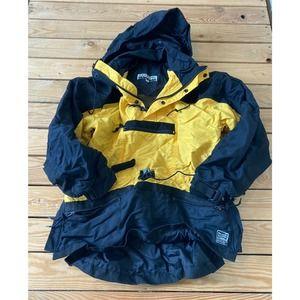 Vintage EXTREME Half Zip Hooded Pullover Jacket